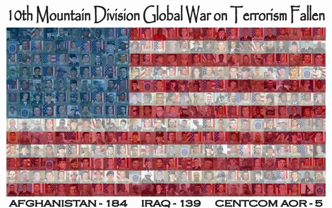 10th Mountain Division Global War on Terrorism Fallen